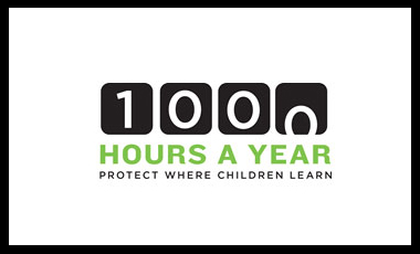 1,000 Hours a Year logo