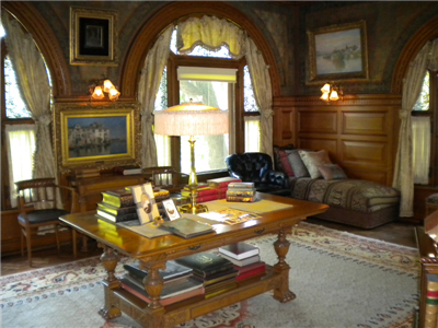 My Favorite Place At The Frick: Claytonu0027s Library/Sitting Room