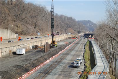Rail, Trail and Road Construction along Rt. 28